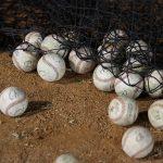 毎日一人でキャッチボールの練習が出来る野球ギア「フィールディングトレーナーネット」紹介